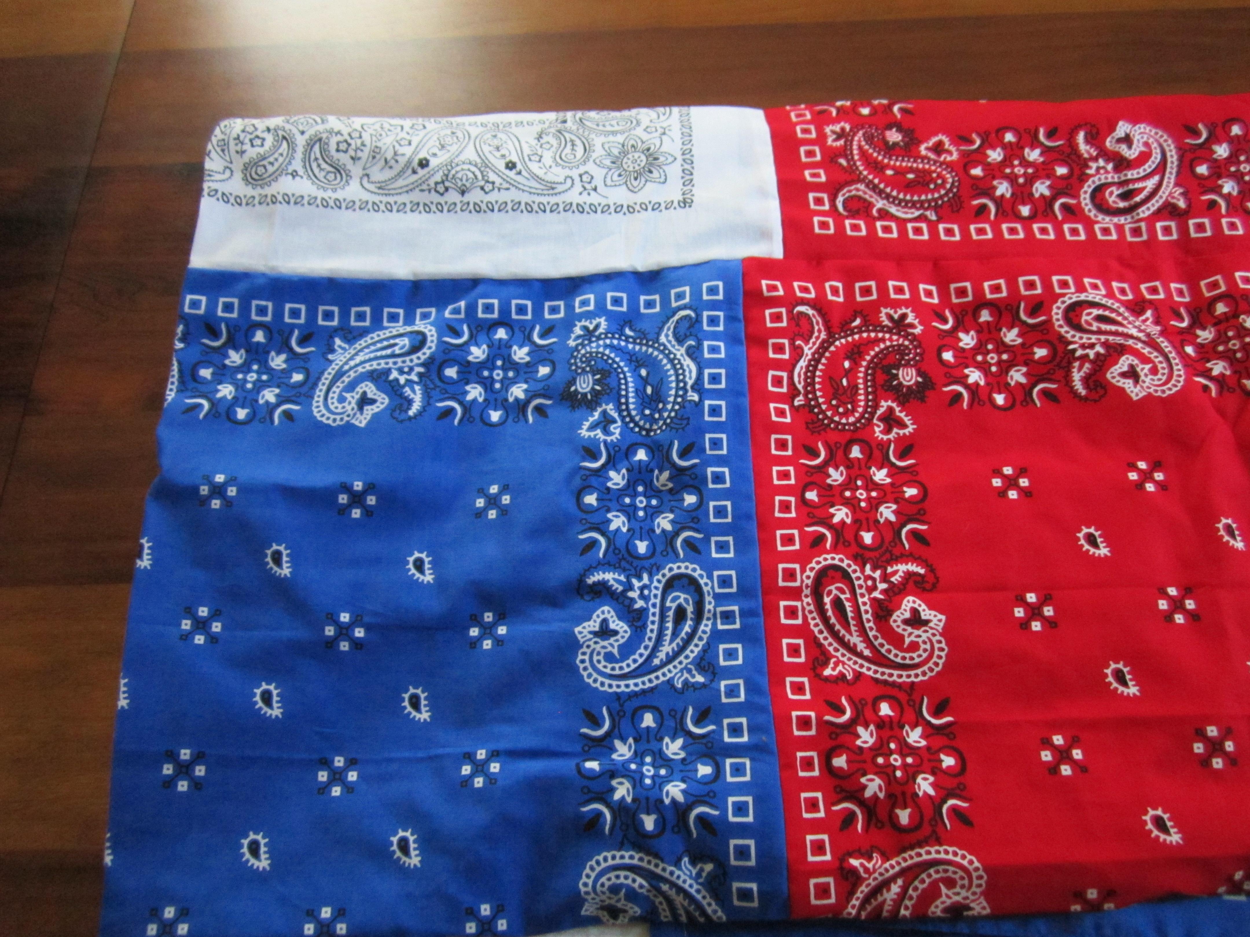 Patriotic Bandana Tablecloth Artsy Wanderer