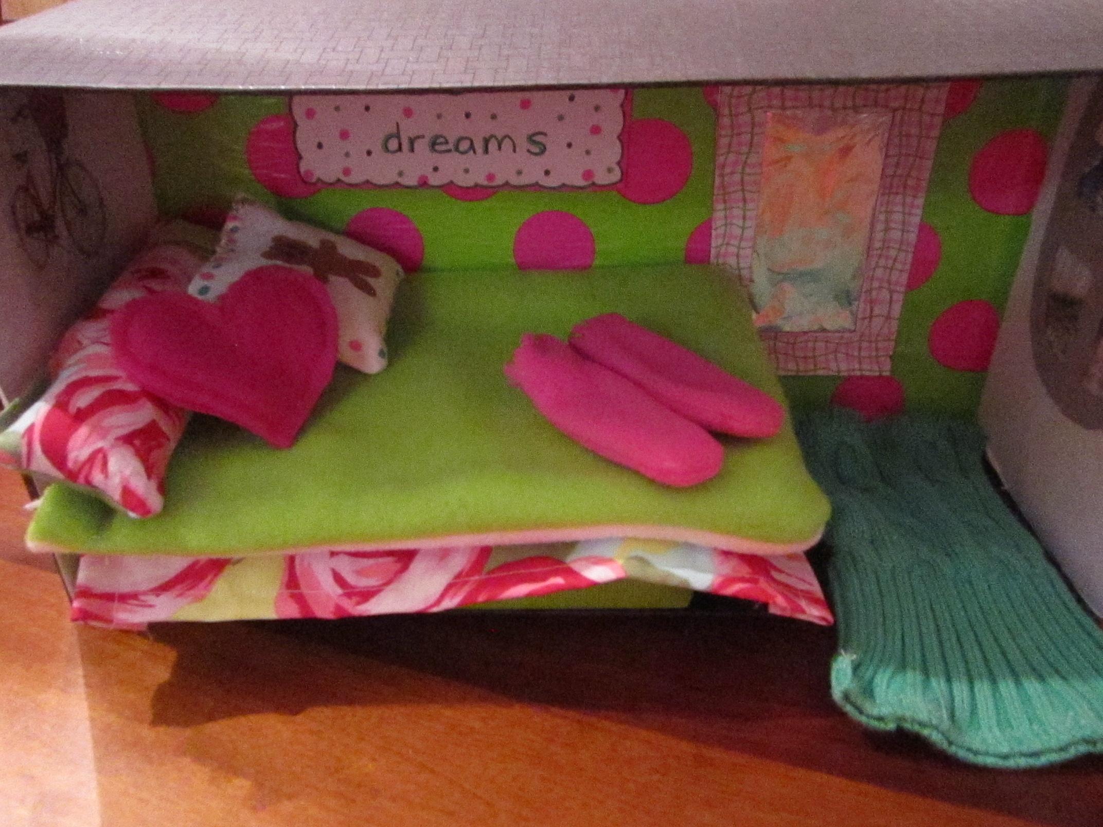 Shoebox Bedroom Shoebox Dollhouse Bedroom Artsy Wanderer