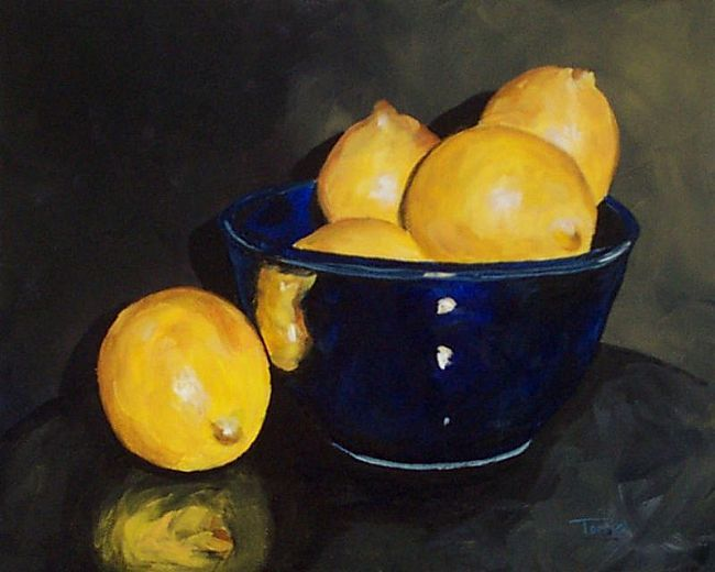 Lemons-and-Blue-Bowl