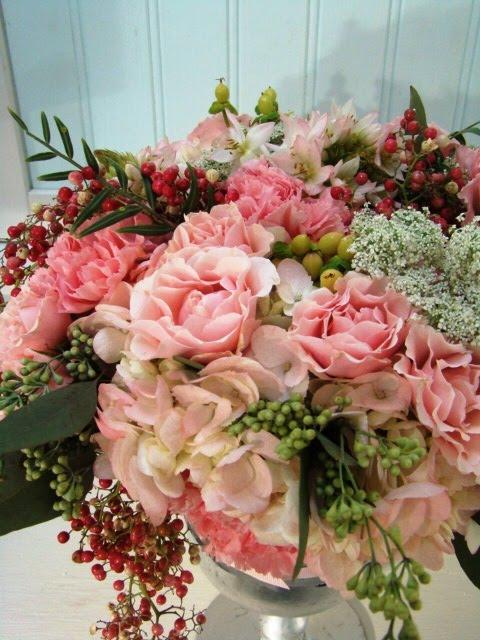 MSE floral arrangement pink