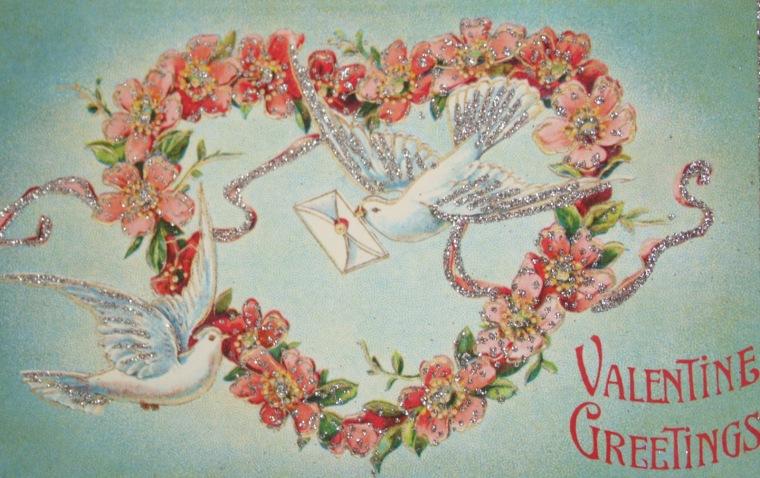 valentines day retro vintage decorations 5