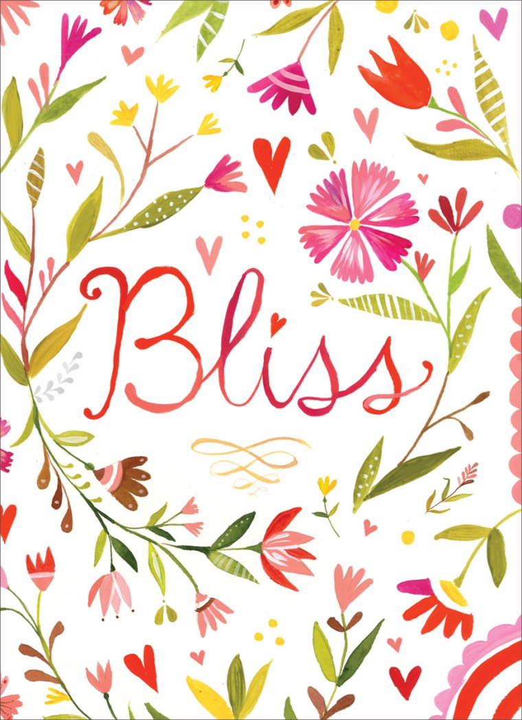 MP238-madison-park-greetings-wedding-card-cards-katie-daisy-flowers-bliss-hand-lettered-pink-green